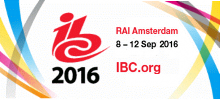 Meet us at IBC 2016