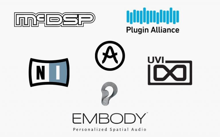 Collage of Included Plugin Brands