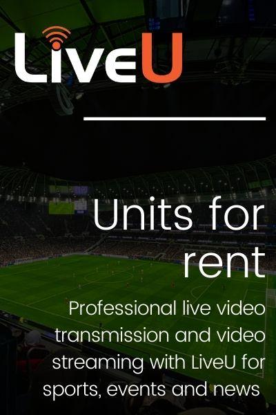 LiveU Units for rent