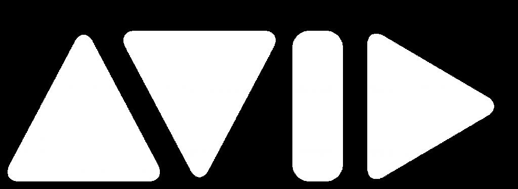 Avid Logo White