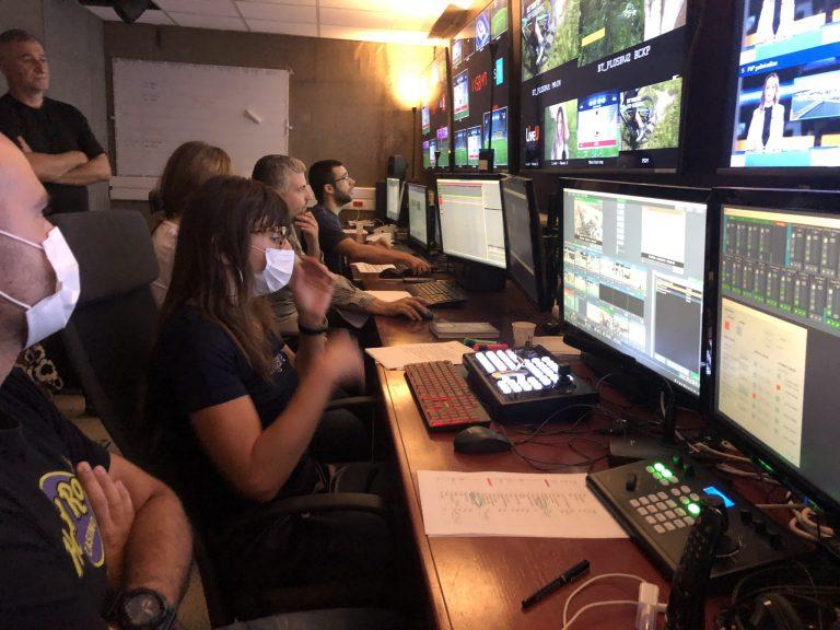 control room team