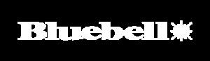 Bluebell logo white
